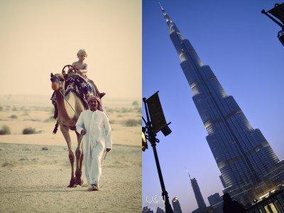Kontraste in Dubai © Überall und Nirgendwo