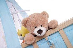 Für viele Familien ist ein Babybett das wichtigste Ausstattungsstück der Unterkunft