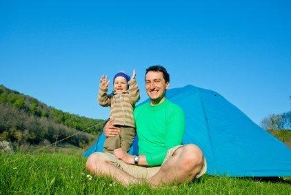Camping mit Baby - das ist wunderschön! © Maygutyak - Fotolia.com