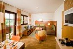 Geräumigen Appartements im Sonnenresort © Sonnenhotels