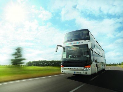 Fernbusse bringen Reisende durch ganz Europa