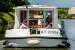 Genuss an Bord © Locaboat Holidays