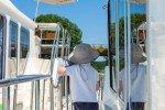 Reling für die Sicherheit der Kleinsten © Locaboat Holidays