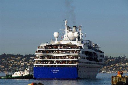 Kreuzfahrtschiffe gehören zu den sichersten Verkehrsmitteln der Welt © Flickr/Port of San Diego