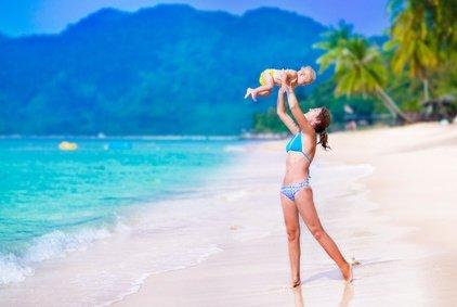 Fernreisen mit Baby - eine tolle Sache © famveldman - Fotolia.com