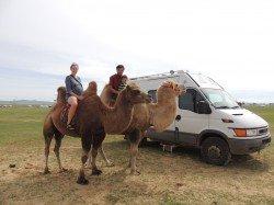 Familie Winkler in der Mongolei