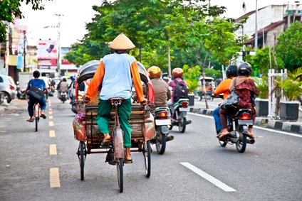 Straßenverkehr in Indonesien - so ganz anders als in Deutschland © Aleksandar Todorovic - Fotolia.com