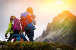 Eine wunderschöne Wanderung für Kinder und Eltern