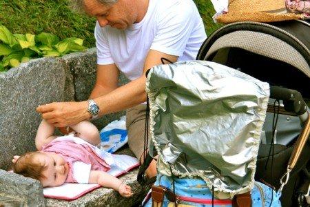 Wickeln unterwegs in anderen Ländern - gar nicht so schwierig! © Susanne Frank/Kidsontheroad.de