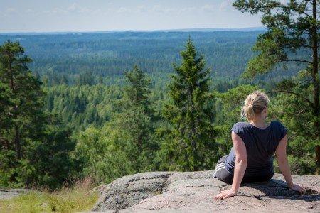 Natur und Ruhe - ideal für eine entspannende Reise mit Kugelbauch © David Gebhardt