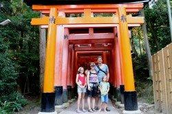 Weltwunderer in Kyoto
