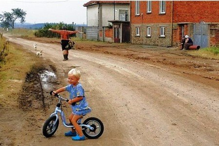 """Ein """"echtes"""" bulgarisches Dorf - nicht sehr pittoresk"""