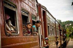 Zugreisen mit Kindern sind spannend - auch und gerade in anderen Ländern