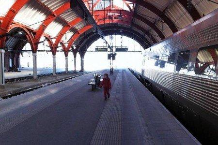 Zugreisen in Schweden sind mit Kind kein Problem © Hartmut Vogt