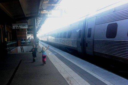 Schwedische Züge sind nicht immer pünktlich © Hartmut Vogt