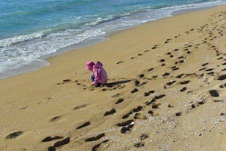Auf einmal ist der schönste Strand doof...