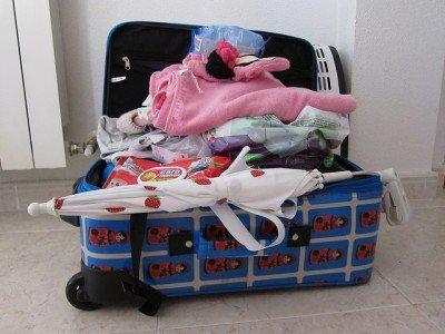 Clever packen fällt Kindern und Erwachsenen schwer