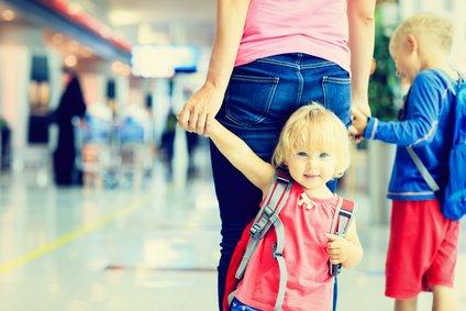 Da kommen wir mit unseren Kindern. Kein Grund, gleich genervt zu sein! © Nadezhda1906 - Fotolia.com