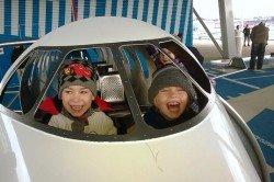 Erster Fehler: die Kinder ins Cockpit lassen ;-)