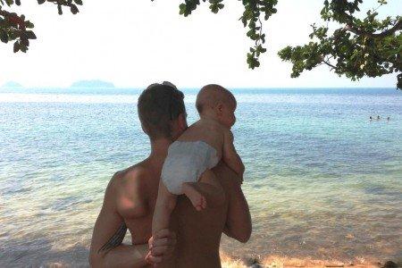 Elternzeit in den Tropen mit Baby - klappt wunderbar © Stefanie Heining