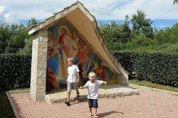 Mit Kindern an einen Wallfahrtsort reisen - konnte das gutgehen?