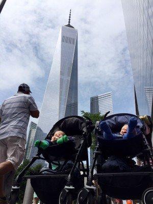 Auch in New York machen die Zwillis eine gute Figur