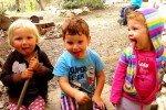 Türkei-Detepede-Kinder verstehen sich auch ohne die Sprache zu sprechen--Deutschland-Türkei-Frankreich © aeroh