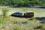Rumänen-Flussbett-es findet sich überall ein schönes Plätzchen © aeroh