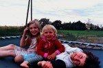 Ungarn-Wwoofing in der Puszta-Trampolin macht Freunde © aeroh