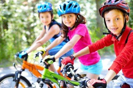 Fahrradfahren mit Kindern, aber sicher!