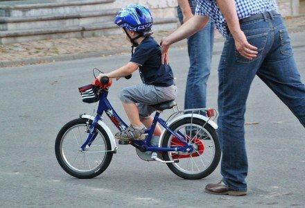 Fahrradfahren will gelernt sein - und zwar nicht zu zeitig