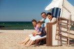 Familie im Strandkorb © VMO_Alexander Rudolph