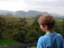 Ausblick auf die Mogotes und das Vinales-Tal