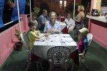Abendessen auf der Terrasse unseres Casa Particular in Cienfuegos © KidsAway.de