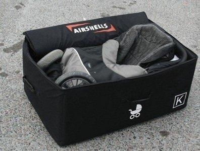 So ist der Kinderwagen bestens verpackt © Airshells