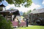 """1x pro Woche backen wir unser eigenes Brot an """"Rainer´s Mühle"""" © Family Resort Rainer"""