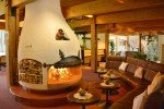 gemütliches Kaminfeuer mit Alpenromantik © Family Resort Rainer