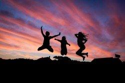 Weltreisen machen glücklich - und noch mehr!