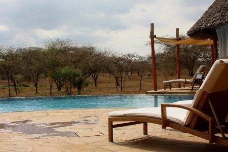 Ein Pool ist Pflicht bei Safari mit Kindern