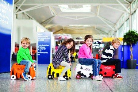 Die Trunki-Koffer sind der Kinderhit © Amazon