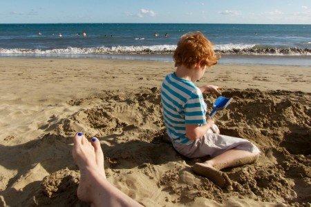 Allein reisen mit Kind - sehr entspannt! © Gela Misslbeck