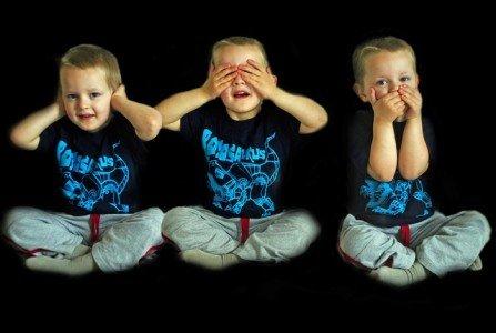 Nicht zuhören, nichts sagen, nicht mit den Augen rollen - der beste Rat gegen blöde Sprüche © Pixabay