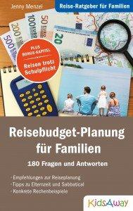 Reisebudget-Planung für Familien - Cover Vorderseite © KidsAway.de