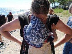 Zeit zu zweit bei einer der ersten Reisen mit Baby nach Rügen
