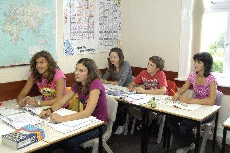 Klassenzimmer der Sprachschule in Bournemouth © Linguago