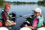 Eine Tour mit dem Kanu ist immer ein tolles Erlebnis. Foto: Regina Stockmann © Naturzeit Verlag