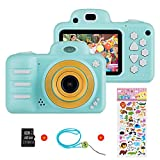 Vannico Kinder Digital Mini Kamera, Selfie Photo...