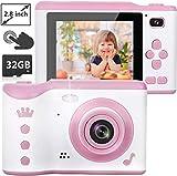 NEXGADGET Kinderkamera, 8MP Digitalkamera mit 2.8...