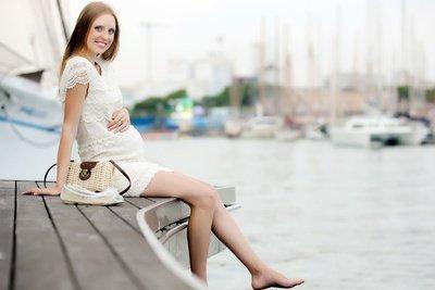 Kreuzfahrt in der Schwangerschaft: meist nur bis zur 24. Woche möglich © JackF - Fotolia.com