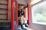 ICE-Kleinkindabteil: So fahren Familien entspannt Zug